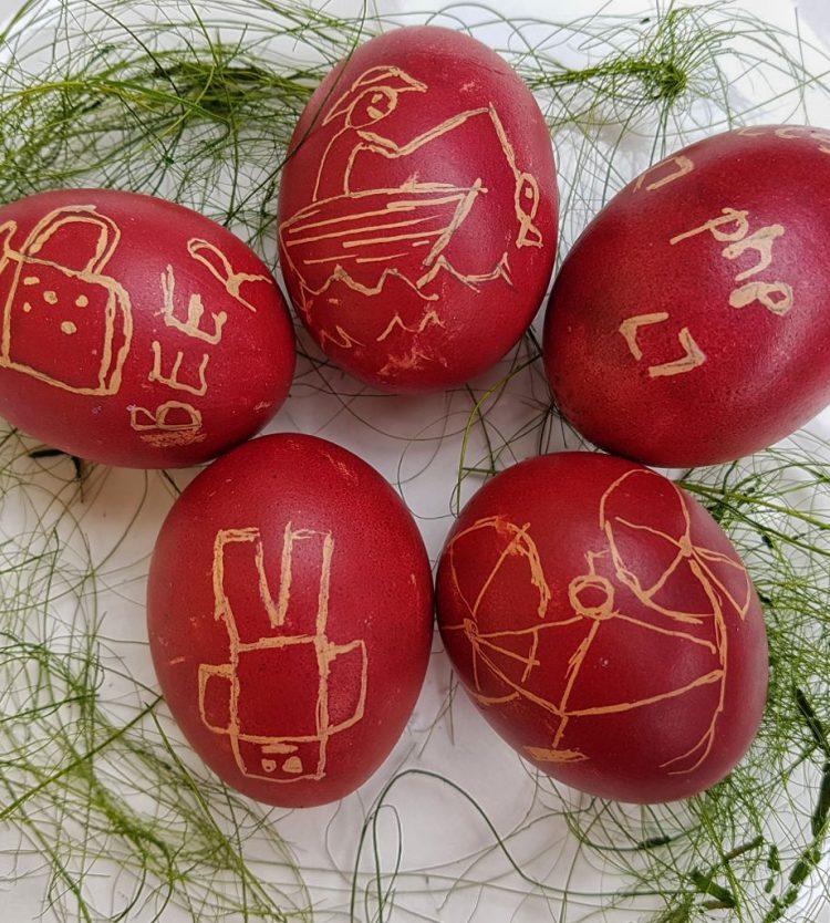 Ugye festünk még tojást a fiúknak? – Húsvétváró