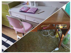 Régiből új asztal