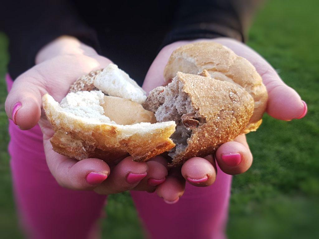 szárított kenyér házi zsemlemorzsa
